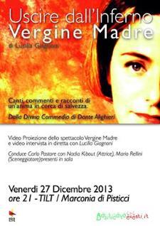 Uscire dall'Inferno - Notti di Teatro - 27 dicembre 2013 - Matera