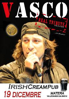 Vasco Real Tribute live - 19 dicembre 2013 - Matera