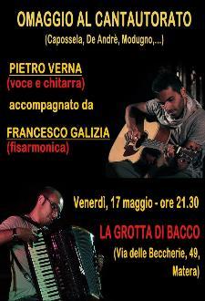 Viaggio cantautorale  - 17 maggio 2013 - Matera