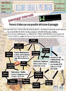 Walking on the line - presentazione di 3 libretti - 24 maggio 2013 - Matera