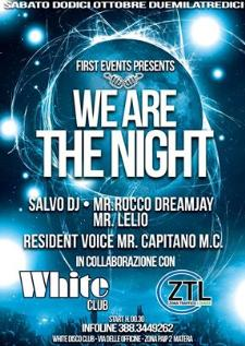 We Are The Night - 12 ottobre 2013 - Matera