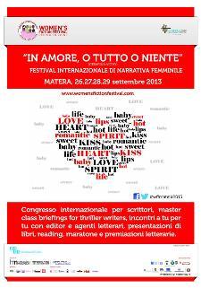 Women's Fiction Festival 2013  - Matera