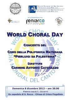 World Choral Day - 8 dicembre 2013 - Matera