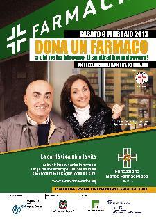 XIII Giornata Nazionale di Raccolta del Farmaco - 9 febbraio 2013 - Matera