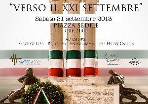 XXI Settembre - Musica e Parole  - Matera