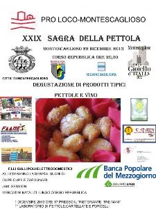 XXIX Sagra della Pettola 2013 - 22 dicembre 2013 - Matera