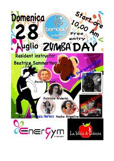 Zumba day - 28 luglio 2013 - Matera