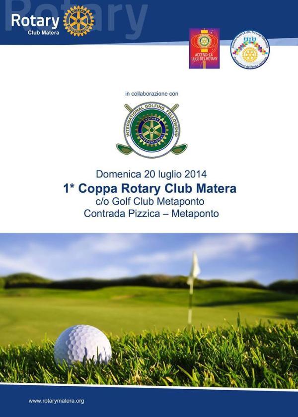 1° Coppa Rotary Club Matera - 20 Luglio 2014
