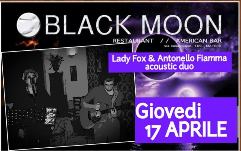 Antonello Fiamma&Lady Fox Acoustic Live - 17 Aprile 2014