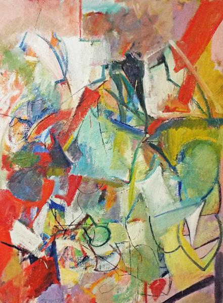 Banchetto di compleanno,olio su tela - Paul Russotto