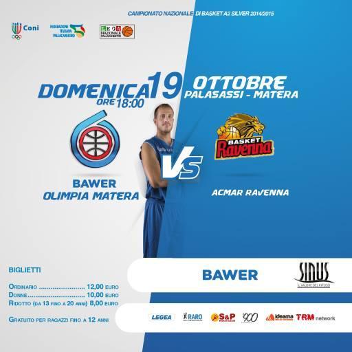 Bawer Matera vs Ravenna - 19 Ottobre 2014
