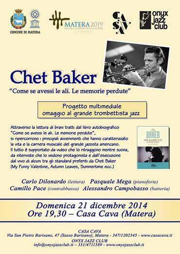 Chet Baker - Gezziamoci 2014
