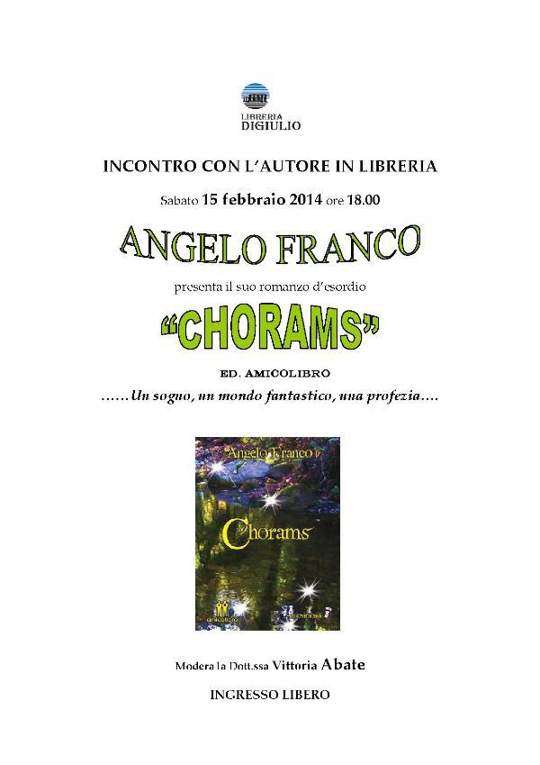 Chorams - 15 Febbraio 2014