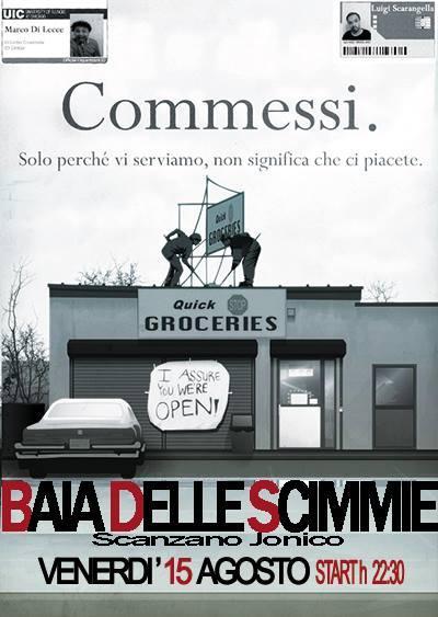 Commessi Live - 15 agosto 2014
