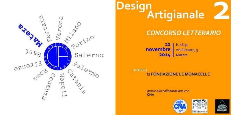 Concorso letterario Design Artigianale 2014