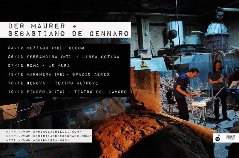 Der Maurer & Sebastiano De Gennaro live - 6 Dicembre 2014