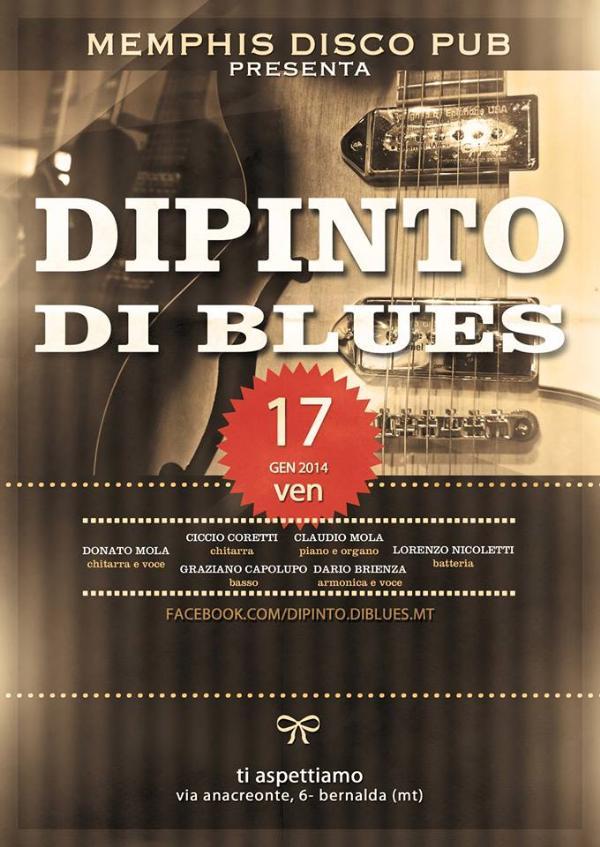 Dipinto di Blues - 17 Gennaio 2014