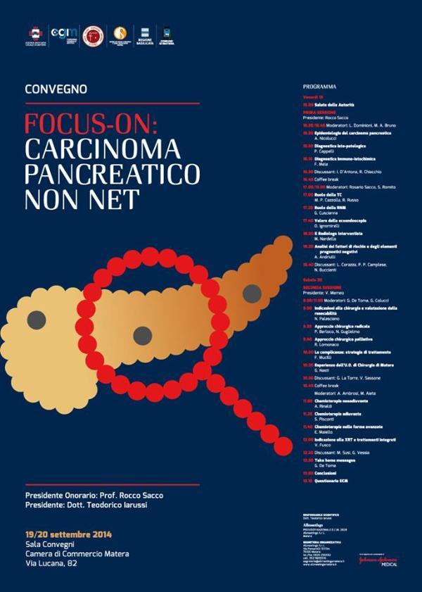 ECM - FOCUS-ON: CARCINOMA PANCREATICO NON NET