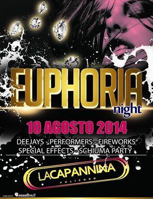 Euphoria Night - 10 Agosto 2014
