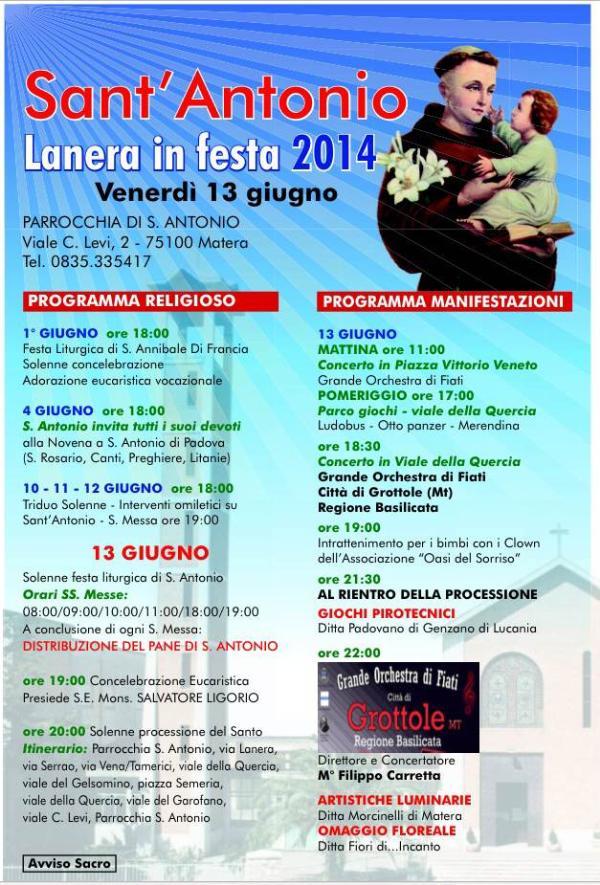 Festa di Sant´Antonio di Padova 2014