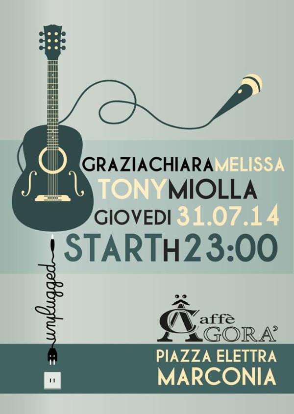 Graziachiara Melissa&Tony Miolla in concerto - 31 Luglio 2014