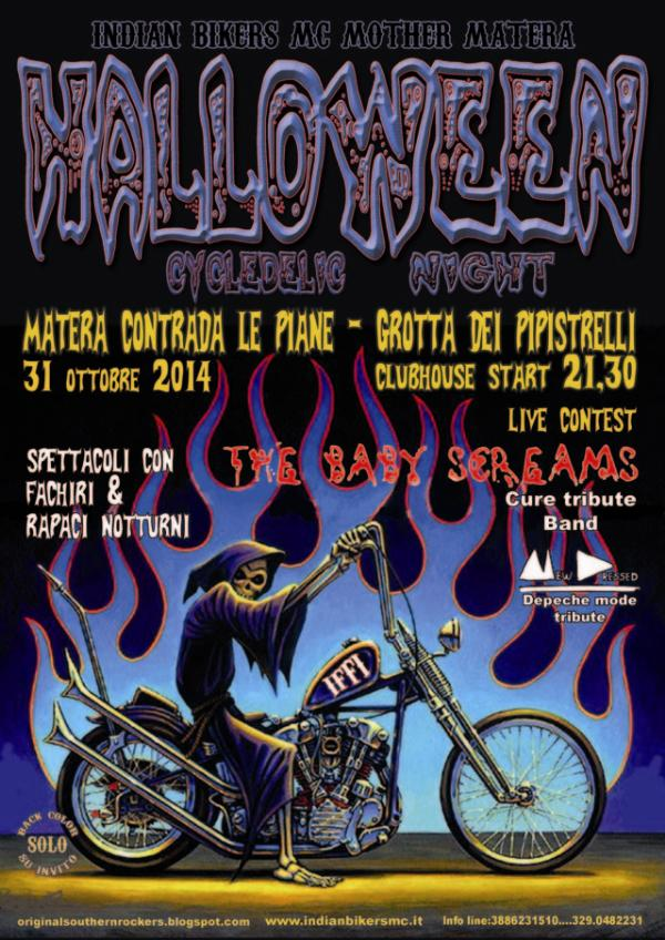 Halloween Cycledelic Night 2014 - 31 ottobre 2014