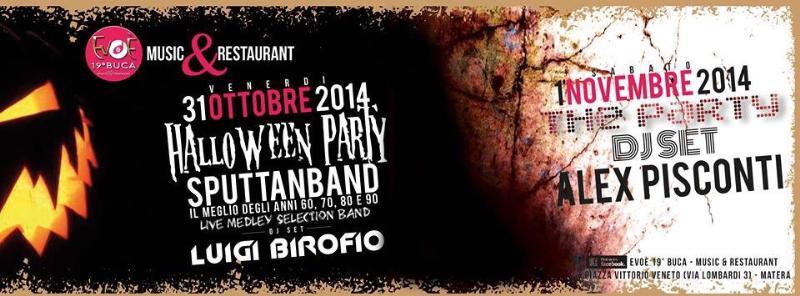 Halloween Party con gli Sputtanband