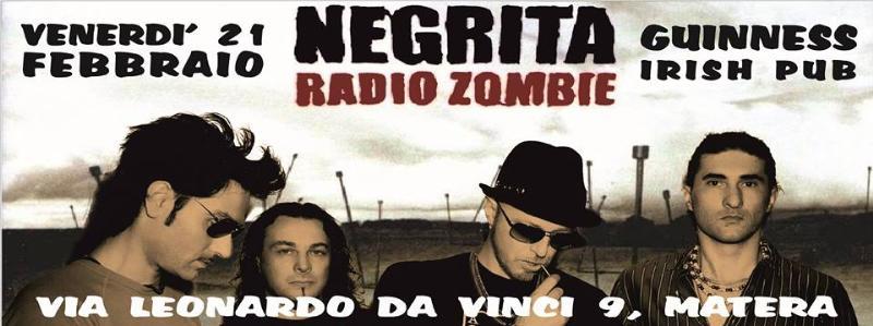 I Radio Zombie Negrita Tribute Band - 21 Febbraio 2014