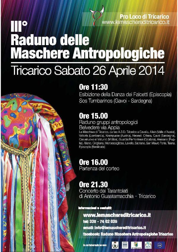 III° Raduno delle Maschere Antropologiche - 26 aprile 2014