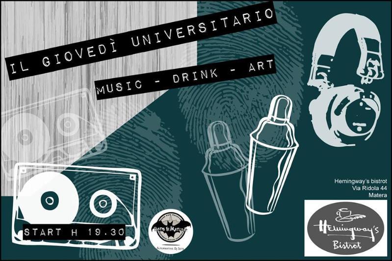 Il Giovedì Universitario dell´ Hemingway´s Bistrot