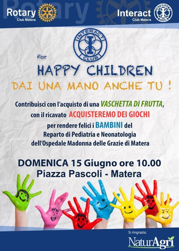 Interact for Happy Children - 15 Giugno 2014