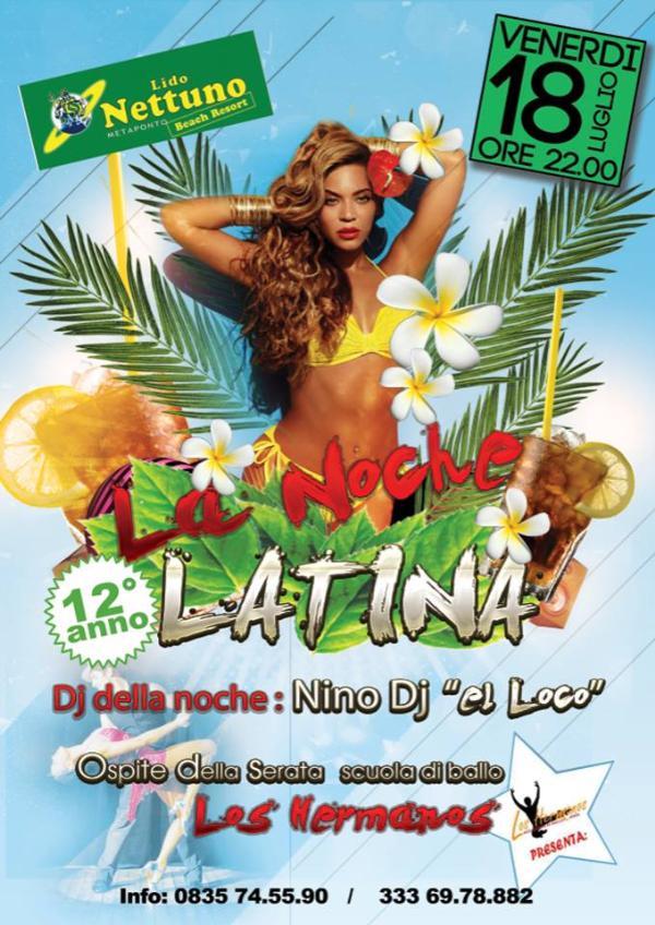 La Noche latina - 18 Luglio 2014