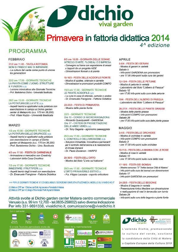 Primavera in Fattoria didattica 2014
