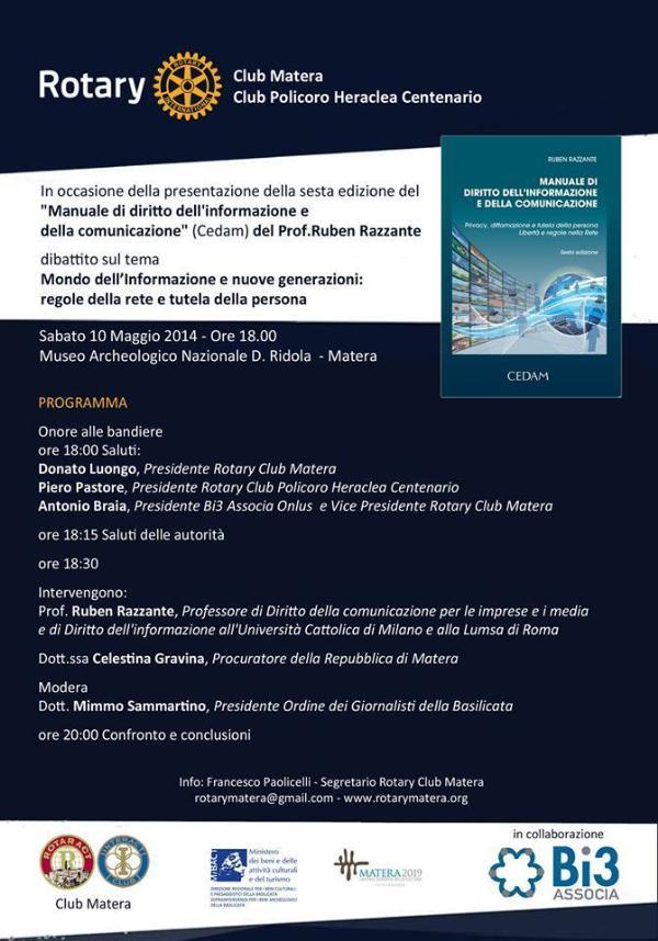 Manuale di diritto dell´informazione e della comunicazione - 10 Maggio 2014