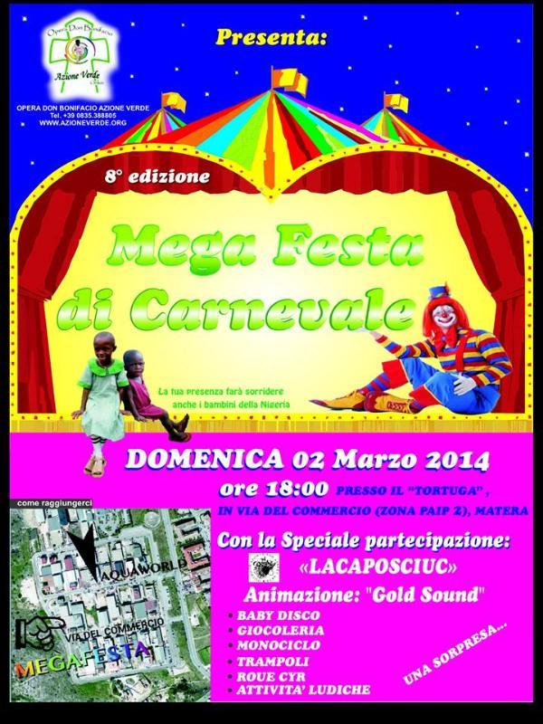 Mega Festa di Carnevale