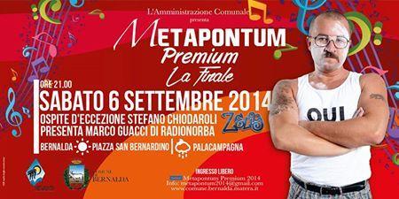 Metapontum Premium 2014 - La Finale - 6 settembre 2014