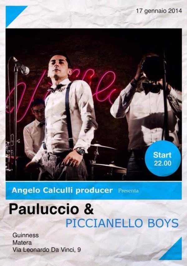 Pauluccio e Piccianello Boys - 17 Gennaio 2014