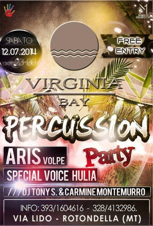 Percussion Party - 12 Luglio 2014