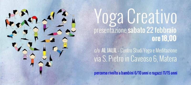 Presentazione del corso: Yoga Creativo