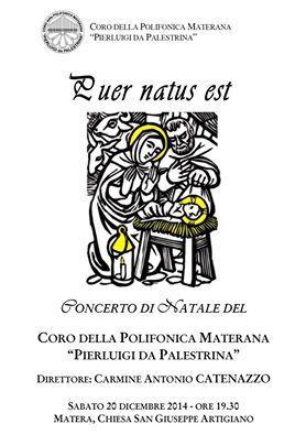 Puer Natus Est - Concerto di Natale - 20 Dicembre 2014