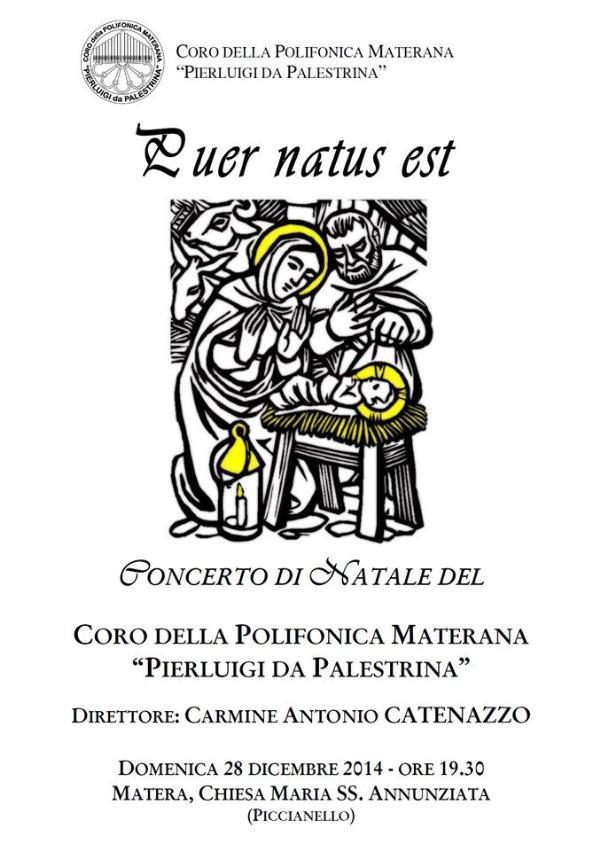 Puer Natus Est - Concerto di Natale - 28 Dicembre 2014