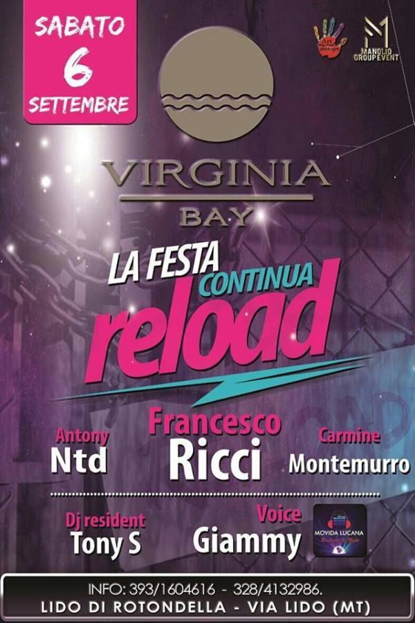 RELOAD - La Festa Continua - 6 settembre 2014
