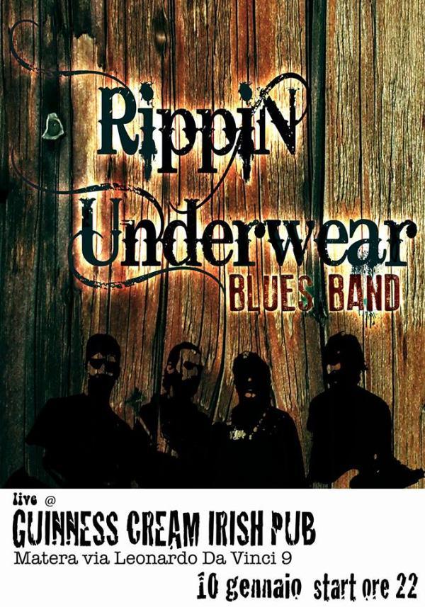 Rippin Underwear Blues Band - 10 Gennaio 2014