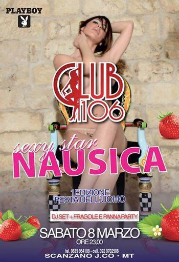 "Special Guest Sexy Star ""NAUSICA"" - 8 marzo 2014"