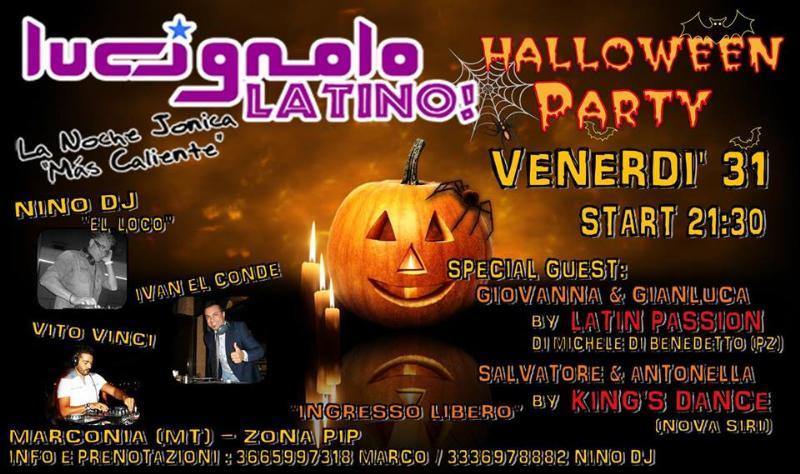 Special Halloween party - 31 Ottobre 2014
