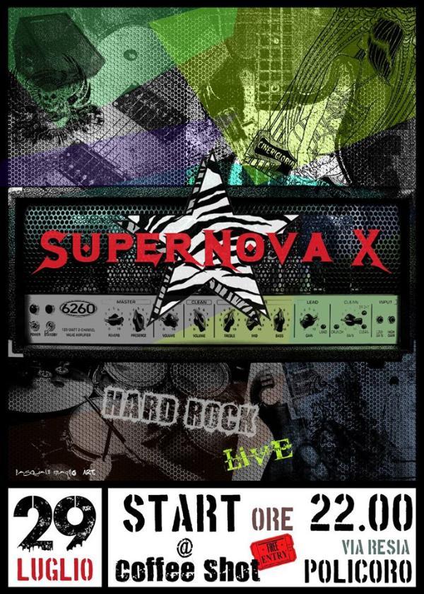 Supernova X Live - 29 luglio 2014