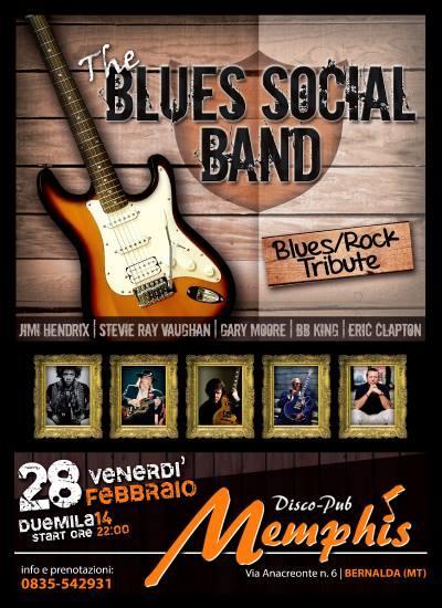 The Blues Social Band  - 28 Febbraio 2014