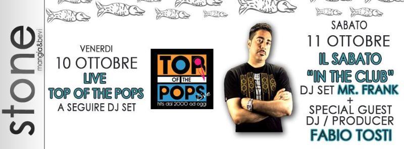Top of the pops 2000 e Fabio Tosti allo Stone