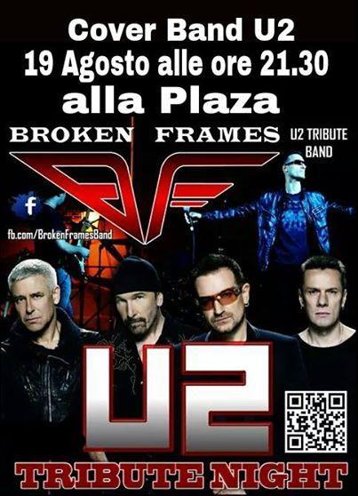U2 Cover Band - 19 agosto 2014