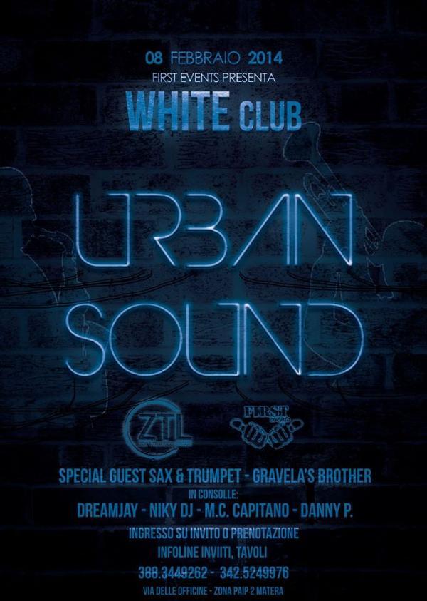 Urban Sound  - 8 Febbraio 2014